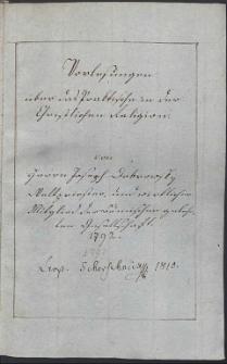 Vorlesungen über das Praktische in der christlichen Religion / von Herrn Joseph Dobrowsky, Weltpriester und wirkliches Mitglied den Böhmischen gelehrten Gesellschaft. 1792