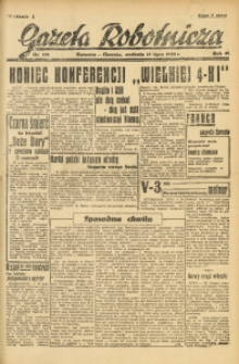 Gazeta Robotnicza, 1946, R. 45, nr 193