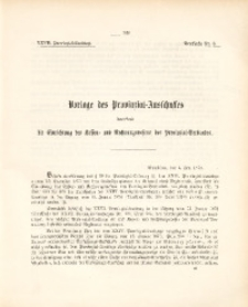 27. Provinzial-Landtag, Drucksache Nr. 3
