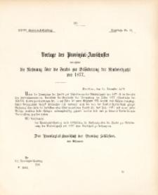 27. Provinzial-Landtag, Drucksache Nr. 13
