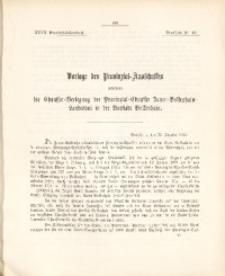 27. Provinzial-Landtag, Drucksache Nr. 43