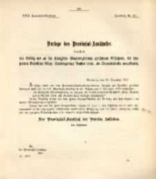 29. Provinzial-Landtag, Drucksache Nr. 34
