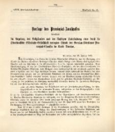 29. Provinzial-Landtag, Drucksache Nr. 41