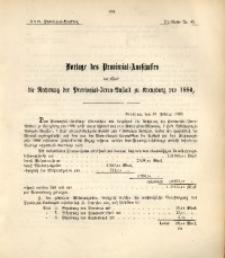 29. Provinzial-Landtag, Drucksache Nr. 45