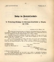 29. Provinzial-Landtag, Drucksache Nr. 46
