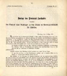 29. Provinzial-Landtag, Drucksache Nr. 57