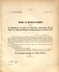30. Provinzial-Landtag, Drucksache Nr. 23