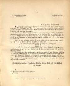 30. Provinzial-Landtag, Drucksache Nr. 116