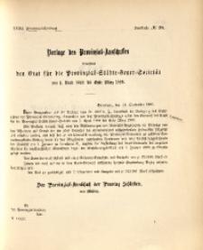 32. Provinzial-Landtag, Drucksache Nr. 20