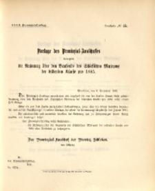 32. Provinzial-Landtag, Drucksache Nr. 45