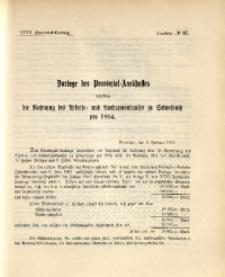32. Provinzial-Landtag, Drucksache Nr. 97