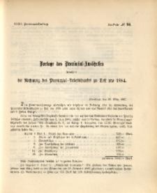 32. Provinzial-Landtag, Drucksache Nr. 99