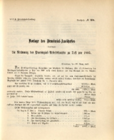 32. Provinzial-Landtag, Drucksache Nr. 100
