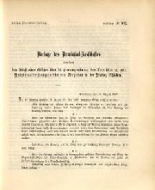 32. Provinzial-Landtag, Drucksache Nr. 102