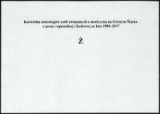 Kartoteka nekrologów osób związanych z medycyną na Górnym Śląsku z prasy regionalnej i fachowej za lata 1988-2017. Litera Ź