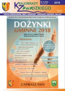 Krajobrazy Zawadzkiego : gazeta samorządowa gminy Zawadzkie : Zawadzkie, Żędowice, Kielcza 2018, nr 6 (204).