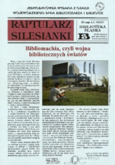 Raptularz Silesianki, 25 maja 2015