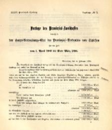 33. Provinzial-Landtag, Drucksache No. 7