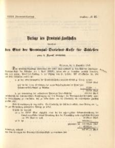 33. Provinzial-Landtag, Drucksache No. 12