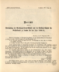 35. Provinzial-Landtag, Drucksache No. 1A