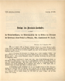 35. Provinzial-Landtag, Drucksache No. 112