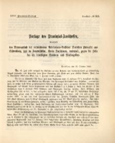 35. Provinzial-Landtag, Drucksache No. 114