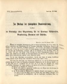 35. Provinzial-Landtag, Drucksache No. 149