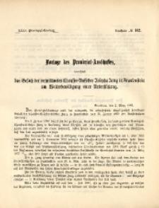 35. Provinzial-Landtag, Drucksache No. 162