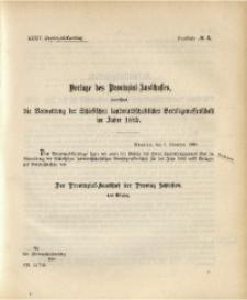 34. Provinzial-Landtag, Drucksache No. 6
