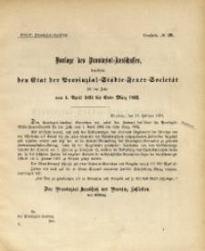 34. Provinzial-Landtag, Drucksache No. 20