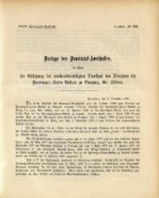 34. Provinzial-Landtag, Drucksache No. 110