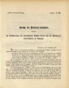 34. Provinzial-Landtag, Drucksache No. 113