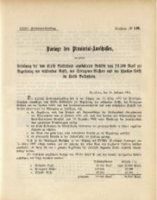 34. Provinzial-Landtag, Drucksache No. 129