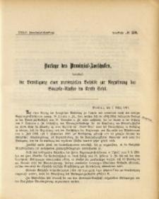 34. Provinzial-Landtag, Drucksache No. 150