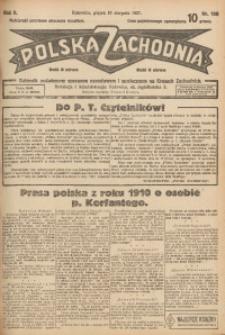 Polska Zachodnia, 1927, R. 2, nr 188