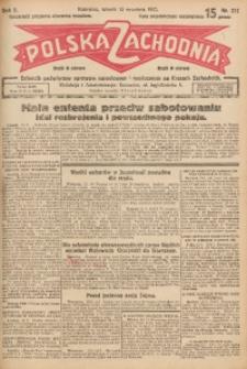 Polska Zachodnia, 1927, R. 2, nr 211