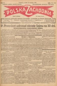 Polska Zachodnia, 1927, R. 2, nr 219