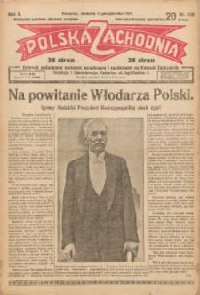 Polska Zachodnia, 1927, R. 2, nr 230