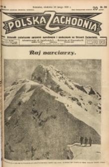 Polska Zachodnia, 1929, R. 4, nr 54