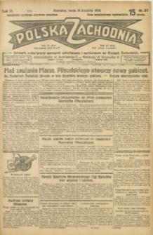 Polska Zachodnia, 1929, R. 4, nr 97