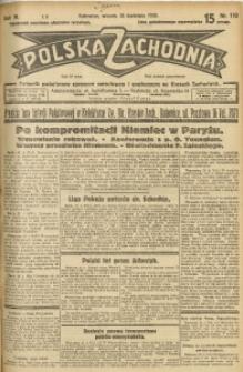 Polska Zachodnia, 1929, R. 4, nr 110