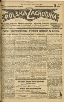 Polska Zachodnia, 1929, R. 4, nr 117