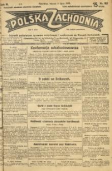 Polska Zachodnia, 1929, R. 4, nr 185