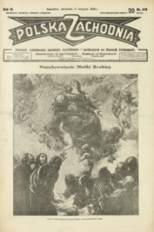 Polska Zachodnia, 1929, R. 4, nr 218