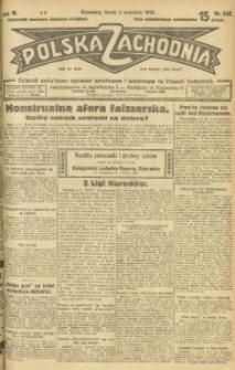 Polska Zachodnia, 1929, R. 4, nr 242