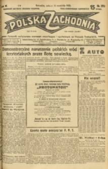 Polska Zachodnia, 1929, R. 4, nr 252