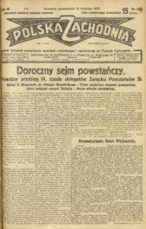 Polska Zachodnia, 1929, R. 4, nr 254