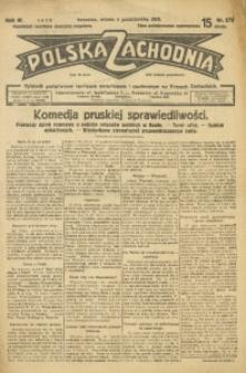 Polska Zachodnia, 1929, R. 4, nr 276