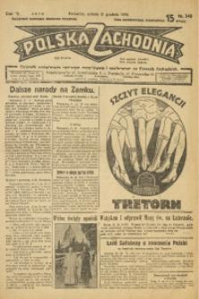 Polska Zachodnia, 1929, R. 4, nr 349