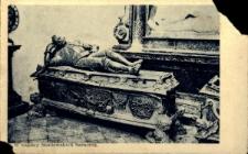Brzeżany. Sakofag Adama Hieronima Sieniawskiego w kaplicy Sieniawskich.